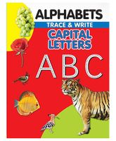 Alphabets Trace & Write Capital Letters ABC - English