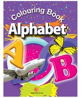 Colouring Book Alphabet - English