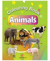 Colouring Book of Animals - English