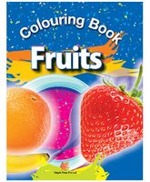 Colouring Book of Fruits - English