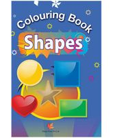 Colouring Books Of Shapes - English