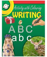 Activity With Colouring Writing - English