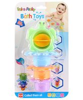 Baby Bath Toys Pack Of 4 - Muti Color