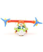 Cartoon Jet Toy Plane - Green