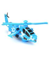 Playmate Victor Helicopter - Blue