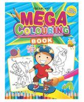 Mega Colouring Book - English