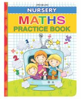 Nursery Math Practice Book - English