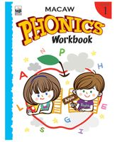 Macaw Phonics Workbook Level 1 - English