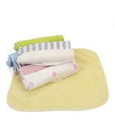 Mee Mee Napkins Pack Of 8 (Color May Vary)