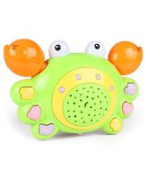 Crab Shaped Baby Musical Toy - Green