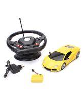 Majorette Lamborghini Gravity Remote Controlled Car Toy - Yellow