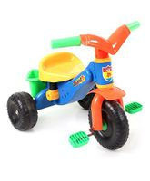 Tricycle With Back Basket Multicolour - 321