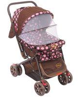 Babyhug Moon Walk Stroller - Pink