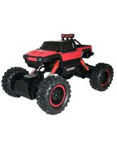 Adraxx 4 WD Remote Controlled Rally Racing Car Toy - Red