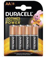 Duracell Alkaline AA Batteries - Pack Of 8