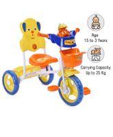 Babyhug Musical Froggy Tricycle - Orange