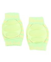 Babyhug Knee Protection Pads - Green & Yellow