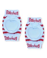 Babyhug Knee Protection Pads Apple Design - Blue & Red