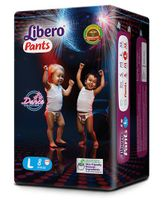Libero Pant Style Diapers Large - 8 Pieces