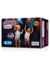 Libero Pant Style Diapers Large - 18 Pieces