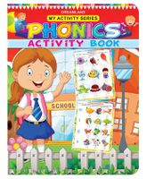 My Activity Phonics Activity Book - English
