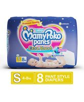 Mamy Poko Extra Absorb Pant Style Diaper Small - 8 Pieces