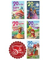 20 In One Fairy Tales Pack Of 5 Books - English