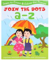 Learn To Count & Color The Picture Join The Dots a-z