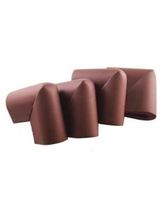 Blossoms U Shape Corner Cushion Guards Brown - Pack Of 4