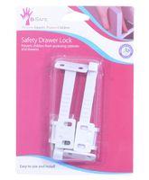 B-Safe Safety Drawer Lock White - Pack Of 2