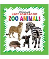 Kiddy Board Book - Zoo Animals
