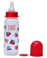 Mee Mee Feeding Bottle Cars Print - Red