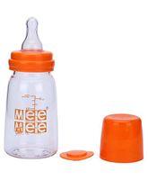 Mee Mee Premium Feeding Bottle Orange - 120 ml