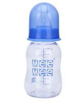 Mee Mee Plastic Premium Feeding Bottle Blue - 140 ml