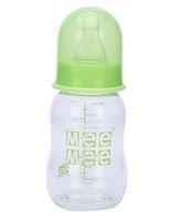 Mee Mee Plastic Premium Feeding Bottle Green - 140 ml