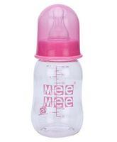 Mee Mee Plastic Premium Feeding Bottle Pink - 140 ml