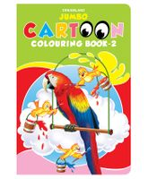 Jumbo Cartoon Colouring Book 2