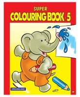 Super Colouring Book Part 5 - English