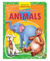 Creative Colouring Book Animals - English