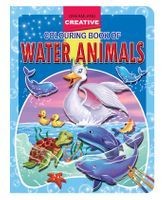 Creative Colouring Book - Water Animals