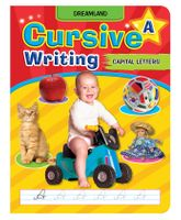 Cursive Writing Book Capital Letters Part A - English