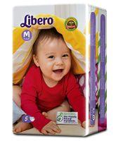 Libero Open Diapers Medium - 5 Pieces