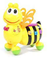 Fab & Funky Honey Bee Shaped Musical Toy - Yellow