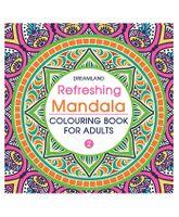 Refreshing Mandala Colouring Book for Adults Book 2 - English