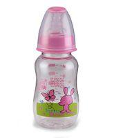 Mee Mee Plastic Premium Feeding Bottle Pretty Butterfly Print Pink - 150 ml