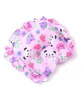 Babyhug Jumbo Semi Circular Pillow - Pink (Print May Vary)