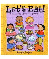 Megaps - Lets Eat Tab & Slot Book With Poster