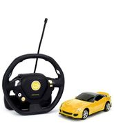 Emob Gravity Sensor Suspended Manipulation Mini Sense RC Car - Yellow