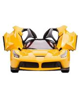 Saffire Ferrari Style RC Car With Opening Doors - Yellow