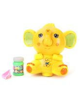 Elephant Shape Bubble Gun - Yellow